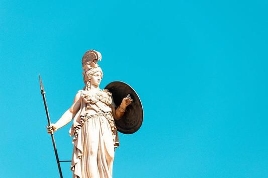 Greek Mythology Athena, Poseidon and the olive tree