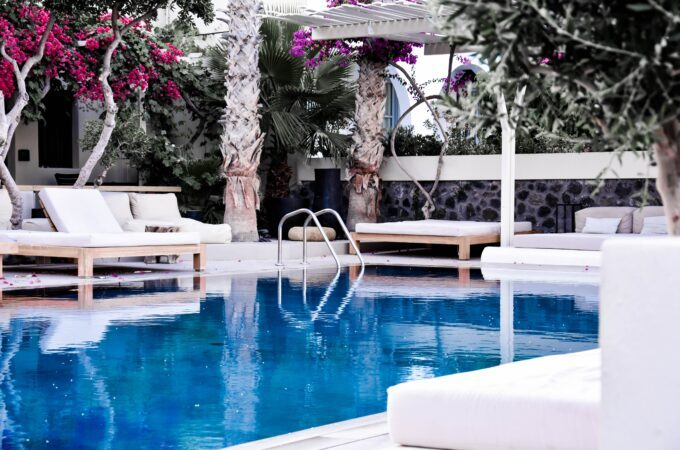 buying property on Crete a swimming pool