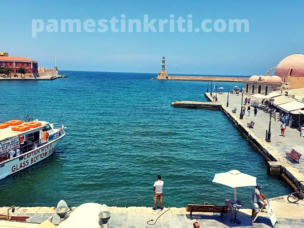 Chania Crete In June, It's Sad To See It Like This